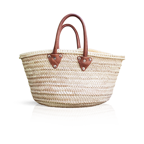 L'Occitane straw basket