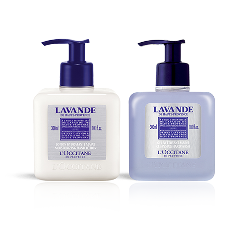 Lavender relaxing hand care set