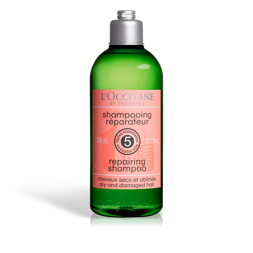 Repairing shampoo with essential oils for strong hair. Daily use natural shampoo