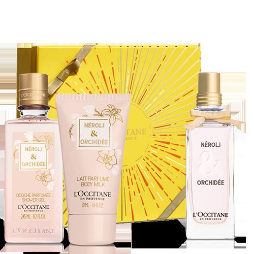 Néroli & Orchidée dovanų rinkinys iš L'OCCITANE
