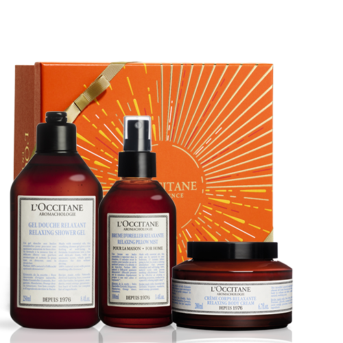 Relaxing Aromachology Body Care Set