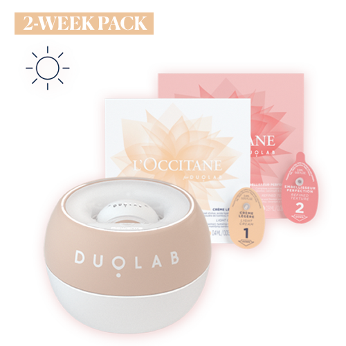 Duolab Device Sand +  2 Weeks Refined Skin Texture Cream Blend