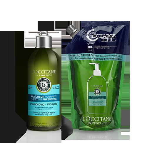 Purifying Freshness Shampoo Refill Duo