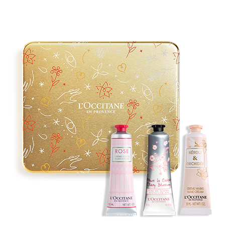 Floral Hand Cream Trio