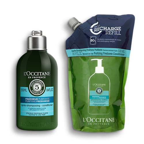 Purifying Freshness Conditioner Refill Duo