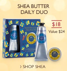 Shea Butter Daily Duo!