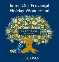 Enter our Provencal Holiday Wonderland