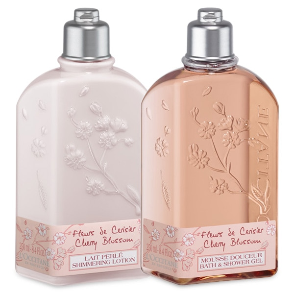 Cherry Blossom Shower Duo