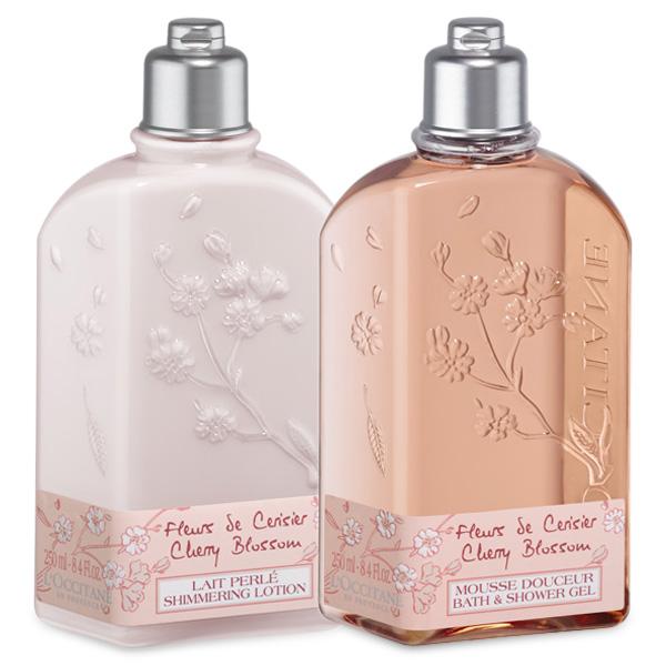 Cherry Blossom Shower Duo