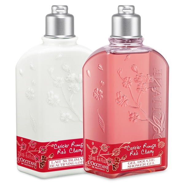 Red Cherry Shower Duo
