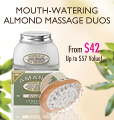 Mouth Watering Almond Massage Duos