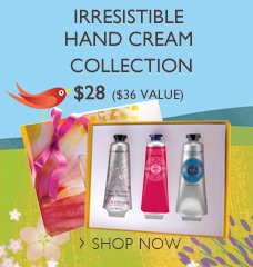 Irresistible Hand Cream Collection