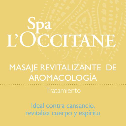 Masaje revitalizante  de Aromacología