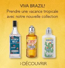 Viva Brazil!  Prendre une vacance tropical avoc notre nouvelle collection
