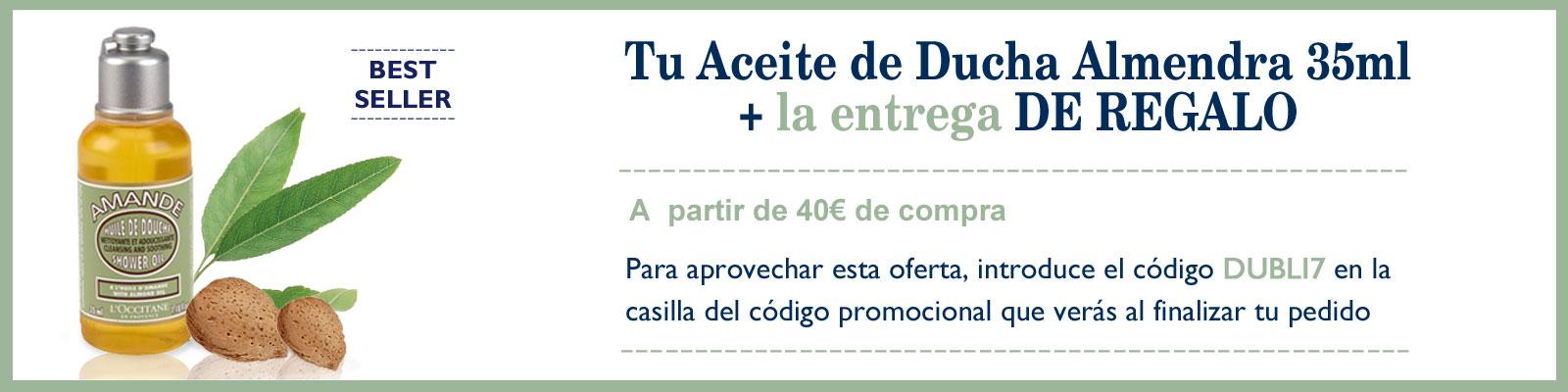 Oferta exclusiva Aceite de ducha Almendra - L'Occitane España
