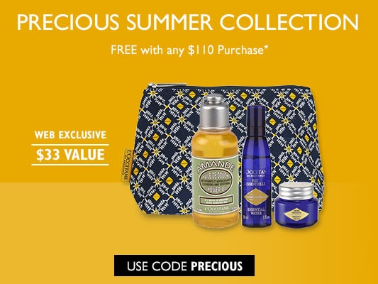 Precious Summer Collection.  Free with any $110 purchase.  Use code PRECIOUS!