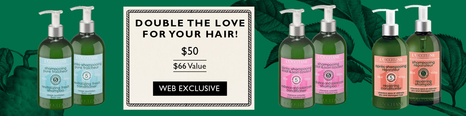 Double the Love for your hair - Web Exclusive