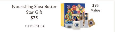 Shea Butter Star Gift