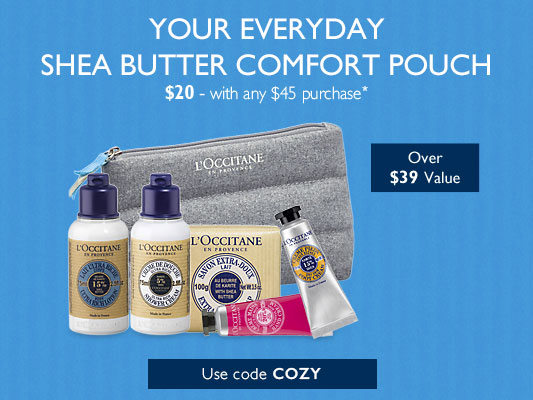 Your Everyday Shea Butter Comfort Pouch