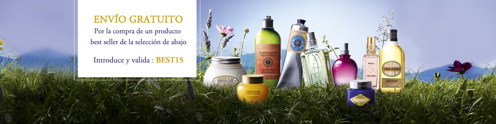 Offre Best sellers - L'Occitane