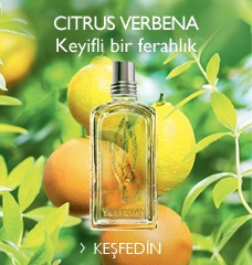 Citrus Verbena Keyifli bir ferahlık