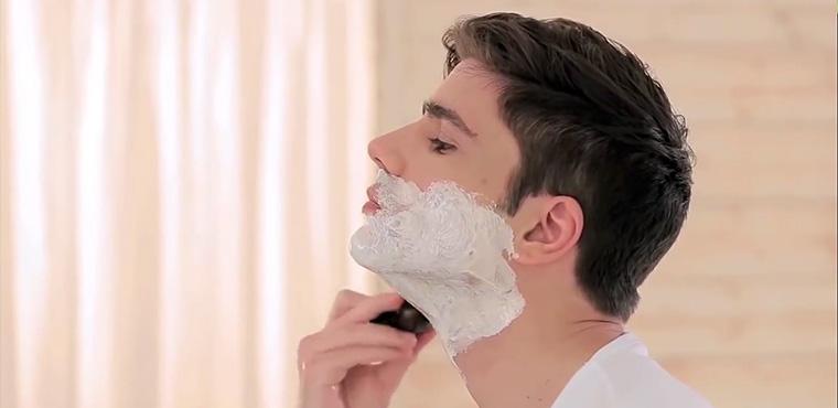 Die Art der Rasur