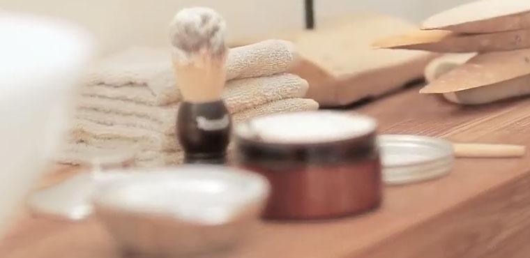 Eine authentische Rasur