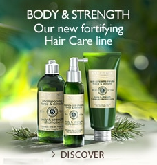 Body & Strength, our new fortifying hair care line