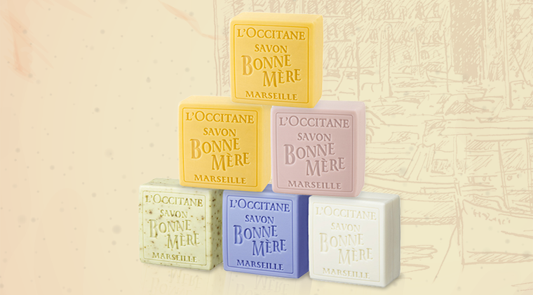 100% of traceable and sustainable palm oil in our soaps*