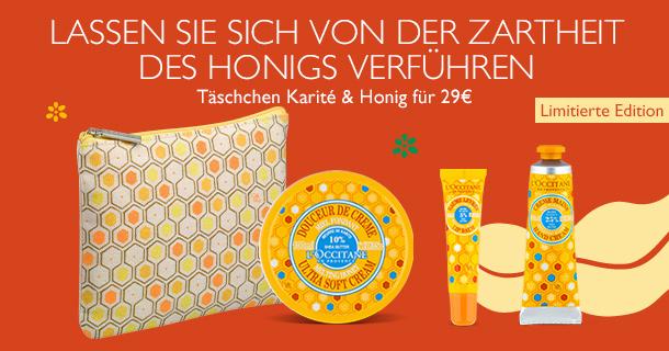 Täschchen Karité & Honig