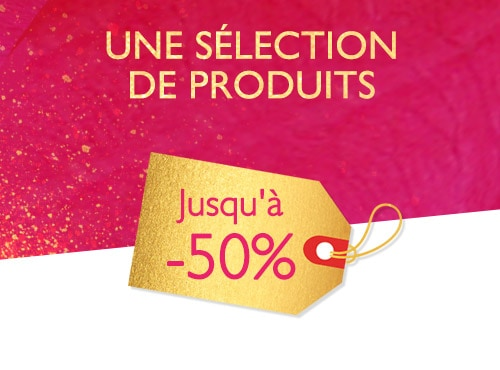 BLACK FRIDAY JUSQU'À -50%
