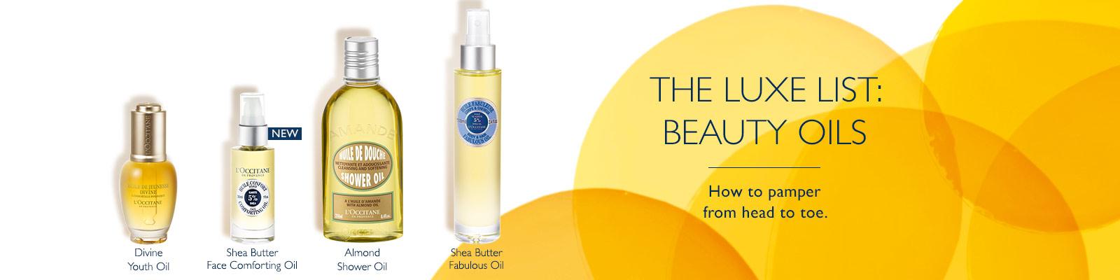 Our Beauty Oil Bar