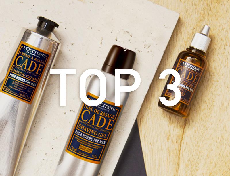 La Top 3 dei nostri consigli per la rasatura!