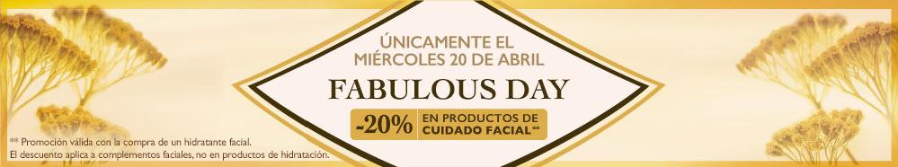 Reservación de cita facial para Fabulous Day L'OCCITANE