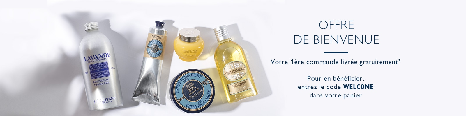 Offre Welcome - L'Occitane Suisse