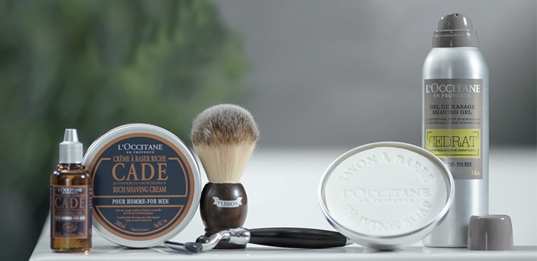 4 WAYS TO THE PERFECT SHAVE