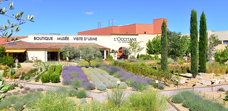 L'OCCITANE INVITES YOU IN MANOSQUE