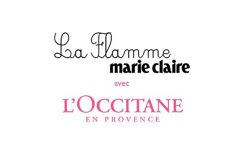 Cette année encore, L'Occitane s'engage auprès de la Flamme Marie-Claire !