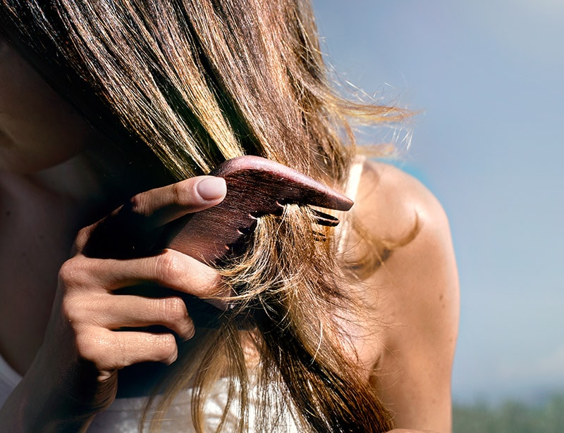 Brushing your hair safely