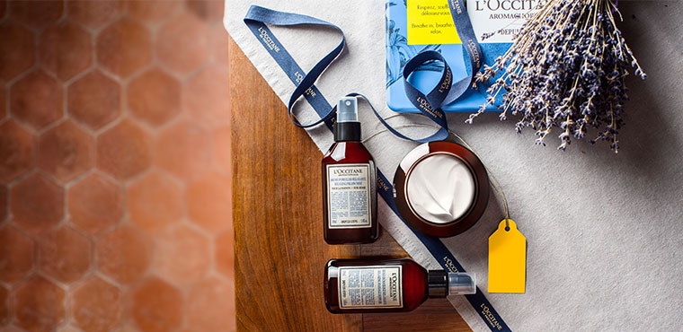 L'Occitane's relaxing gifts