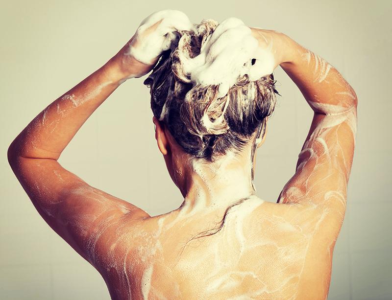 「頭皮を洗う」を意識して