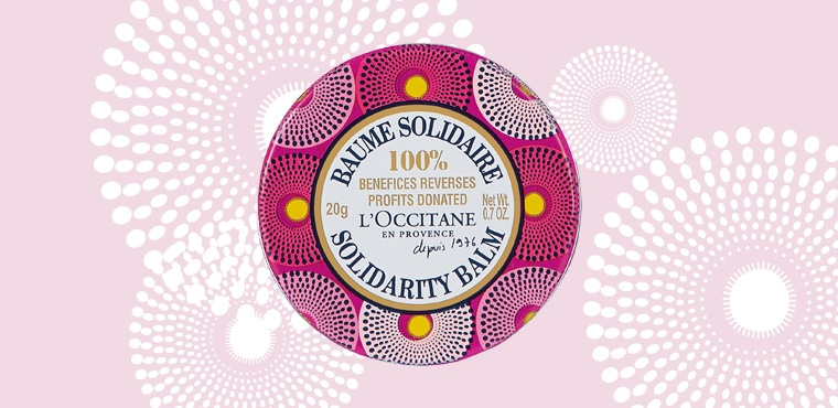 Shop L'OCCITANE's Solidarity Balm to support women's empowerment