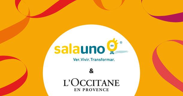 LOccitane y SalaUno