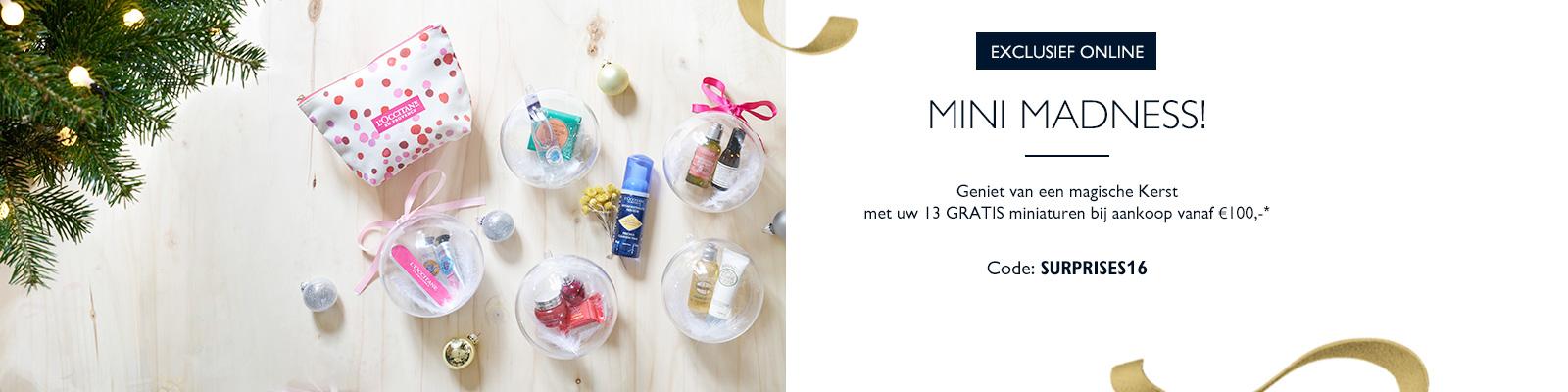 Offre miniatures - L'Occitane