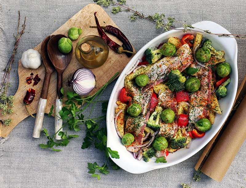 海や山から採れる自然の食材を活かしたプロヴァンス料理
