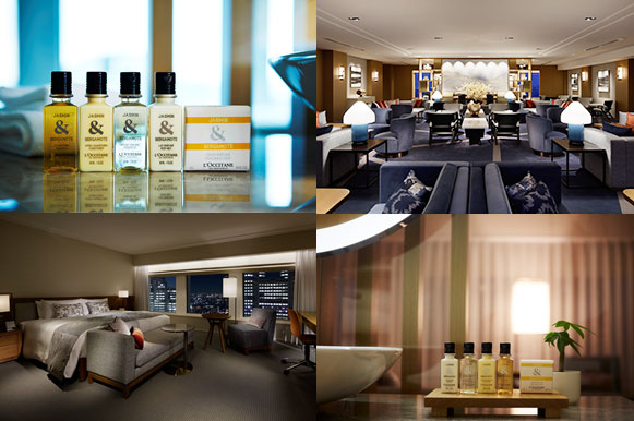 ロクシタン 京王プラザホテル客室 アメニティー イメージ