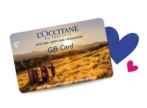 Le carte regalo L'Occitane