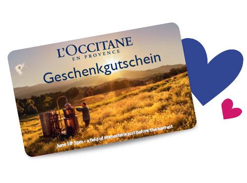 L'Occitane Geschenkkarten