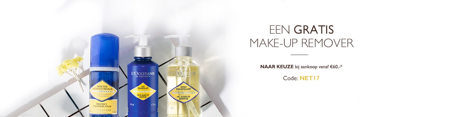 Make Up Remover aanbieding