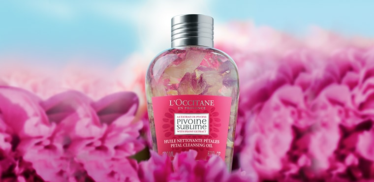Pivoine Petal Cleansing Oil